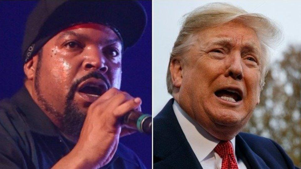 Ice Cube Taunts Donald Trump With Explicit New Track 'Arrest The President'