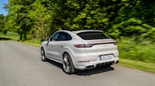Photos of the 2020 Porsche Cayenne Coupe