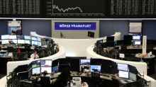 UBS and global growth concerns drive down European shares