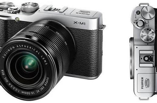 Fujifilm's X-M1 interchangeable camera leaks out, doesn't mess with retro success