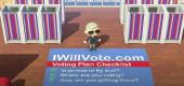 Animal Crossing. (Biden campaign)
