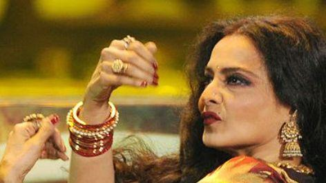 Rekha to turn judge for small screens?