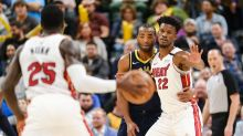 A tight playoff race and Butler vs. Warren. A look at Monday's intriguing Heat-Pacers game