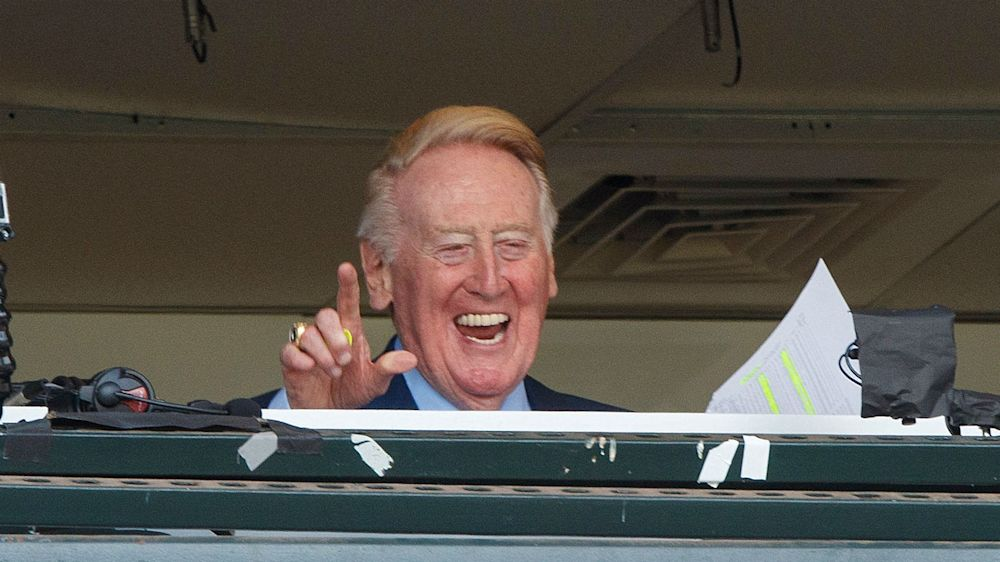 Vin Scully not sure he'll watch Dodgers on opening day: 'I'll probably have things to do'