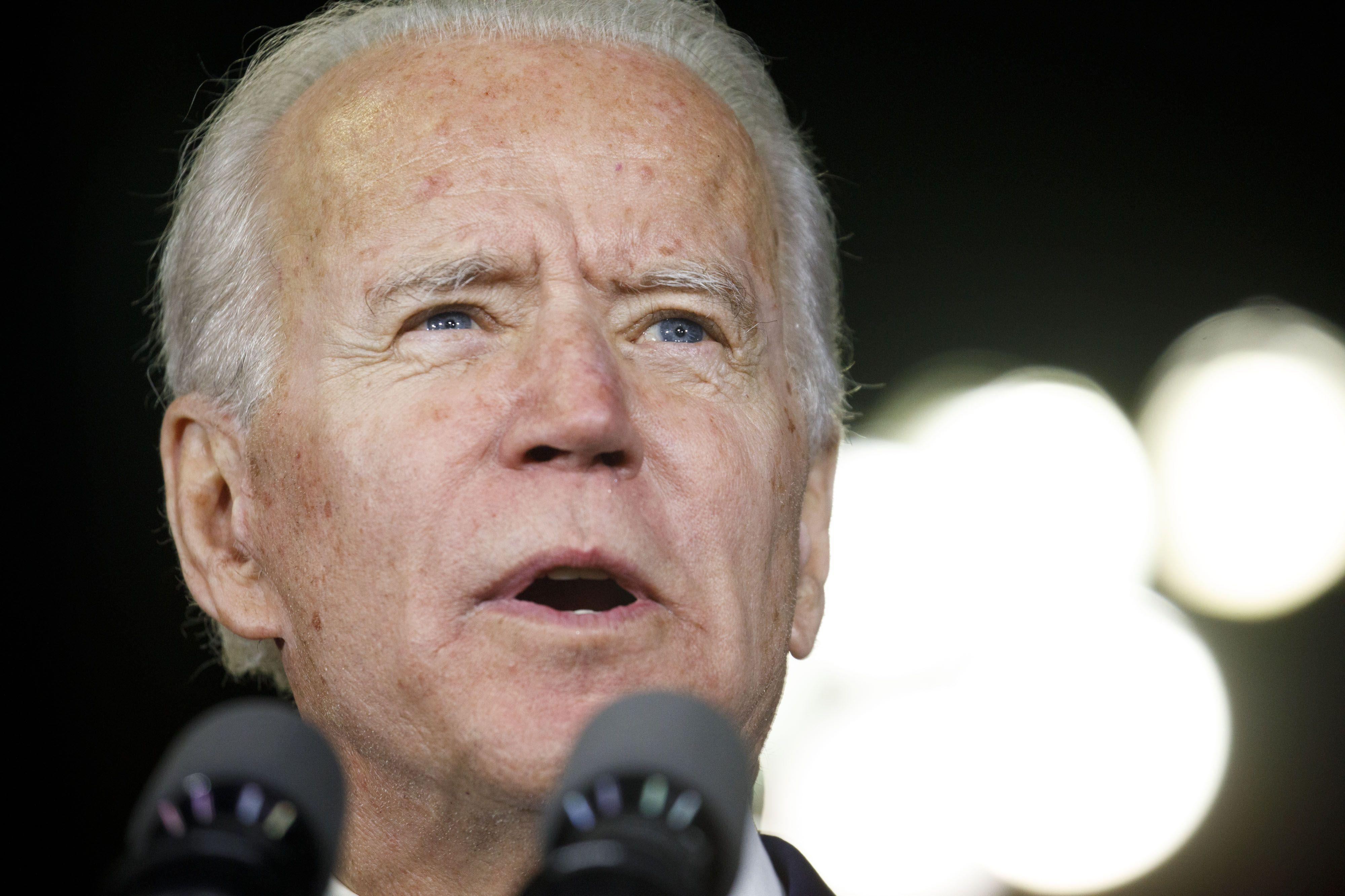 Biden Holds Sizable Edge Over Trump in Swing Counties