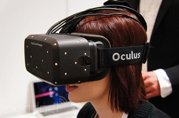 The Oculus Rift 'Crystal Cove' prototype is 2014's Best of CES winner