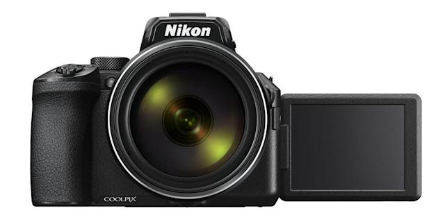Nikon's Coolpix P950 has an improved EVF, 4K and 83x zoom power