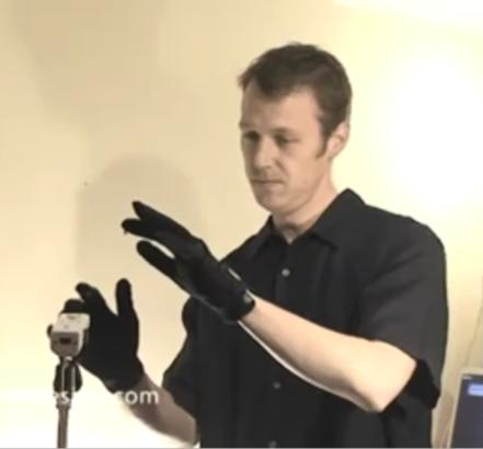 Wiimote repurposed into theremin, Vincent Price's ghost perks up