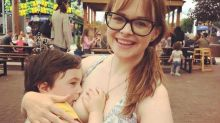 Mum sparks debate after snap breastfeeding son, four, goes viral