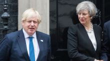 Boris Johnson refuses to back Theresa May as odds on him being next PM are slashed
