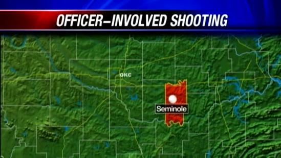 OSBI investigates officer-involved shooting in Seminole