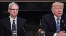 Apple CEO Tim Cook critical of Trump in leaked memo