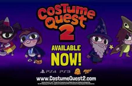 Costume Quest 2 dresses up on PS4, PS3 tonight