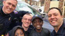 Good News des Tages: Polizist rettet einsame Geburtstagsfeier eines 9-Jährigen