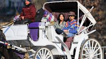Nicolas Cage Enjoys Carriage Ride with New Wife Riko Shibata in N.Y.C.