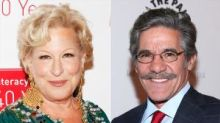Bette Midler Accused Geraldo Rivera of Groping Her in a 1991 Interview With Barbara Walters