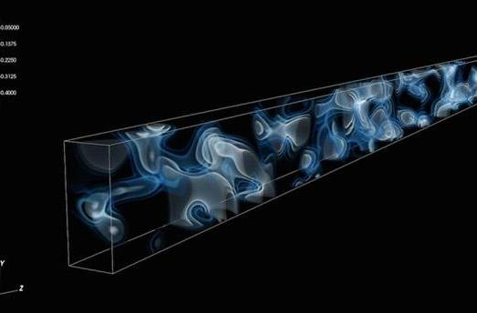 A 3D slice of the universe 10.8 billion years ago