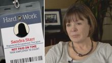 Hard At Work: This woman claims company fired her after she complained about unpaid wages