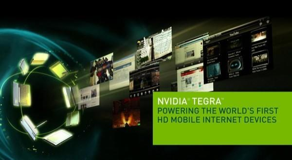 """NVIDIA Tegra smartphone due from a """"top five"""" manufacturer before 2010?"""