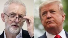 Jeremy Corbyn Accuses Donald Trump Of 'Interfering' In General Election After Endorsing Boris Johnson