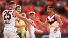 Lions beat GWS, sit second on AFL ladder