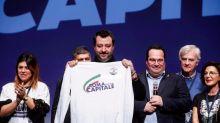 """Salvini al PalaCongressi di Roma: """"Vinceremo, è solo questione di tempo"""""""