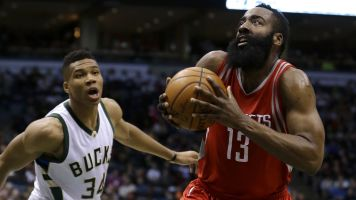 Chosen ones: Giannis, Harden lead All-NBA team