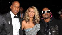 Kanye West Calls Jay-Z and Beyoncé 'Famleeeeee' After Feud over Couple Skipping His Wedding