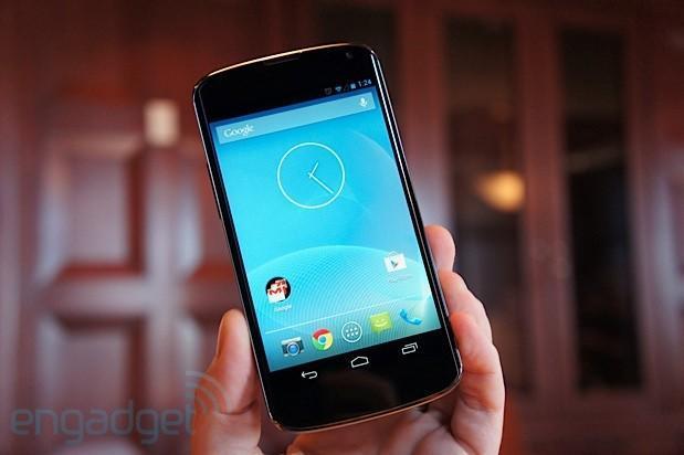 Google Nexus 4 hands-on (video)