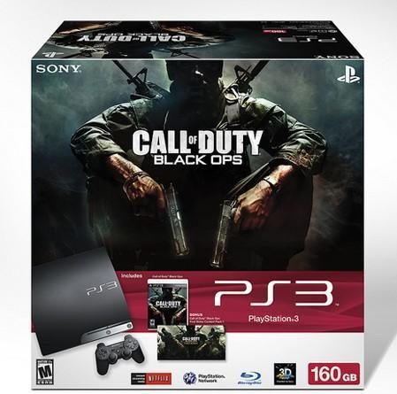 Sony announces 160GB PlayStation 3 bundle with Call of Duty: Black Ops