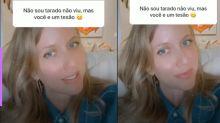 """Gabriela Prioli detona seguidor que a chamou de 'tesão':  """"Bobão inconveniente"""""""