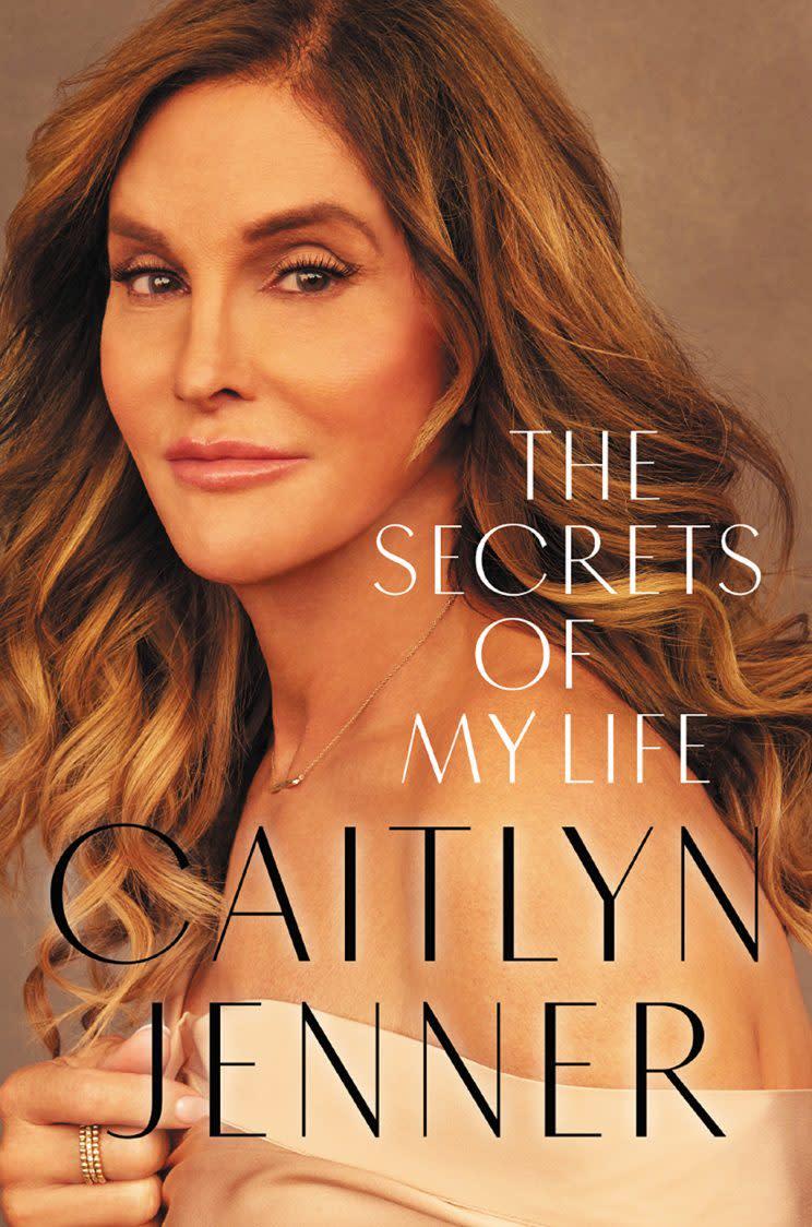 The cover of Caitlyn Jenner's memoir, The Secrets of My Life