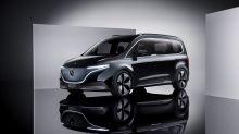 The Mercedes-Benz EQT previews a seven-seat EV coming next year