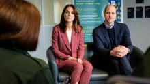 Prince William and Kate Middleton reveal impressive working from home set-ups as they launch mental health initiative