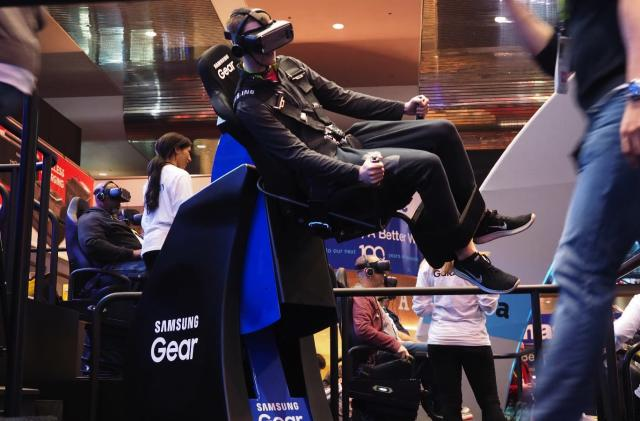 Samsung knows exactly how to sell mobile VR to the public