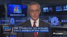 Fmr. Starbucks CEO looking at potential presidential run