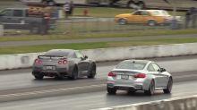 Place your bets: Nissan GT-R vs BMW M4 drag race