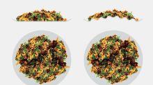 ¿Quieres controlar lo que comes? Elige platos curvados