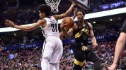Raptors extend mastery over Nets in late comeback