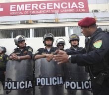 As police wait to arrest him, ex-Peru president kills self