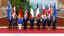 Trump and other leaders clash on trade, climate at G7