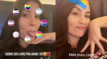 """Bianca Andrade revela que é pansexual: """"Livre para amar"""""""