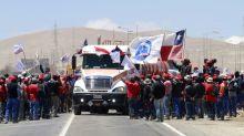 La mayor mina de cobre del mundo mantiene operación pese a huelga en Chile