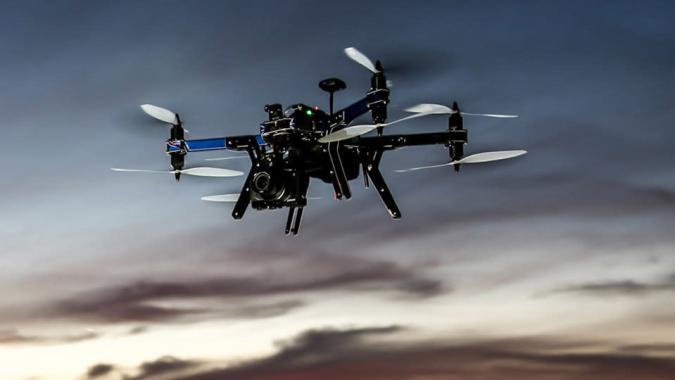 3D Robotics' new drone can follow you around, carry a mirrorless camera