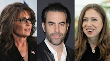 Duped Sarah Palin says Sacha Baron Cohen told her Chelsea Clinton was a recipient of a government-funded sex change