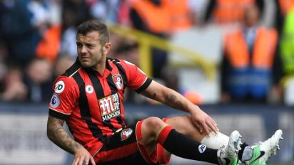 Jack Wilshere's Arsenal future in doubt after suffering broken leg against Tottenham