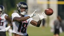 Watch: Falcons WR Calvin Ridley moving well at training camp
