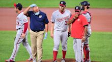 Stephen Strasburg on IL due to nerve issue in hand
