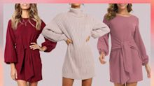 These Are Amazon's 5 Most Popular Sweater Dresses Under $40