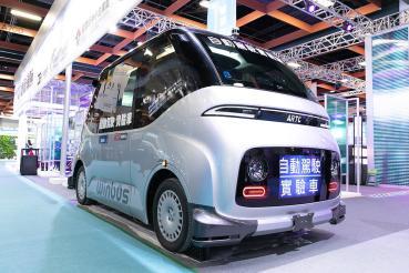 定位、動態環境感知更精密!WinBus自駕電動小巴首於台北TIE展亮相